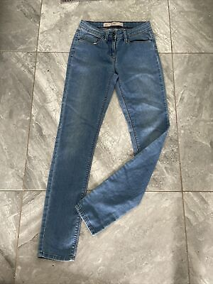 £8.50 • Buy Lovely Ladies Next Skinny Jeans Size 6 R W27 L30 Slouch Waist