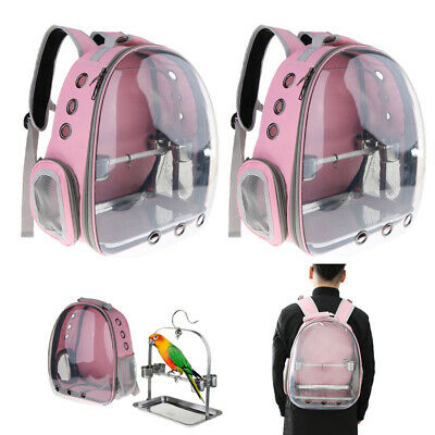 £86 • Buy 2 Pcs Bird Carrier, Front Cover Clear View Travel Backpack Space Capsule