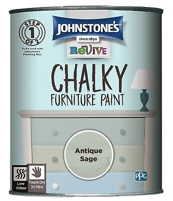 £17.49 • Buy Johnstone's Revive Chalky Furniture Paint 750ml - 7 Colours Available!