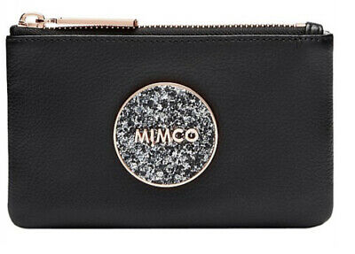 AU39.95 • Buy MIMCO Small Pouch BLISS Black Wallet Purse Clutch Rose Gold BNWT RRP$69.95 New