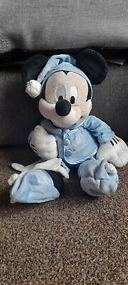 £9 • Buy Rare Mickey Mouse Blue Pyjamas And Blanket - Stamped - Personalised AMY