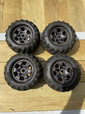 £36 • Buy Hpi Nitro Savage Wheels And Tyres For 21 X Or XL