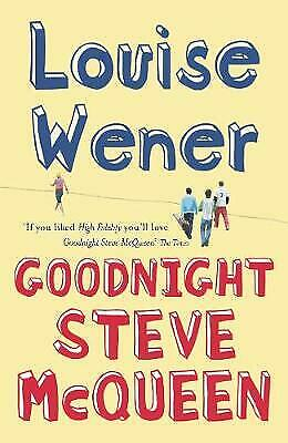 £2.45 • Buy Goodnight Steve McQueen, Wener, Louise , Acceptable, FAST Delivery