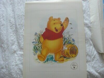 £1.99 • Buy Winnie The Pooh Commemorative  1997  Lithograph