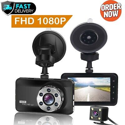 AU102.05 • Buy ORSKEY Dash Cam Front And Rear 1080P Full HD Dual Dash Camera In Car Camera For