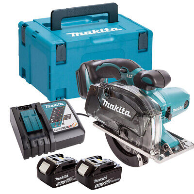 £335.50 • Buy Makita DCS552RTJ 18V 136mm Metal Cut Saw With 2 X 5.0Ah Batteries Charger & Case