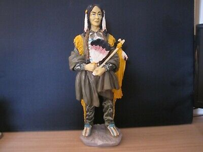 £10 • Buy Bust Native American Indian 46cm