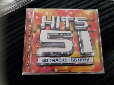 £1 • Buy Hits 51 - Various Artists - Double Cd