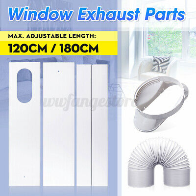 AU23.76 • Buy Exhaust Hose/Window Adaptor/ Window Slide Kit Plate For Portable Air Conditioner