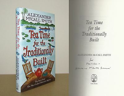 £14.95 • Buy Alexander McCall Smith - Tea Time For The Traditionally Built - Signed - 1st/1st