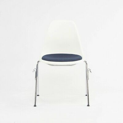 AU399.46 • Buy 2018 Eames Stacking Dining Chair DSS With Navy Seat By Vitra / Herman Miller