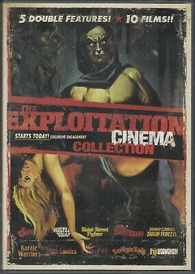 £29.04 • Buy DVD - The Exploitation Cinema Collection - 20 Films On 10 Discs