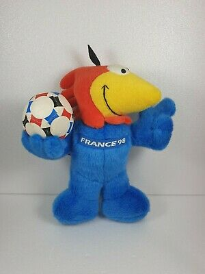 £19.99 • Buy Offical France 98 World Cup Mascot Plush Footix Rooster Rate - Free Delivery
