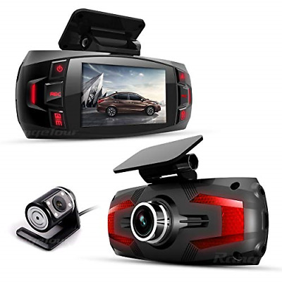 AU100.89 • Buy Range Tour Z4 Plus In Car Dash Camera Front And Rear Dual Camera 2.7  LCD Screen