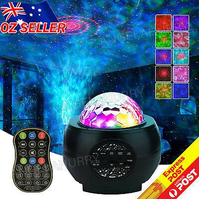 AU29.98 • Buy Galaxy Night Light LED Baby Room Lamp Gift Projector Ocean Star Sky Party NEW