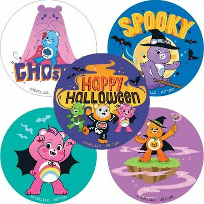 £1.55 • Buy Care Bears Stickers X 5 - Care Bears Halloween Stickers - Party Trick Or Treat