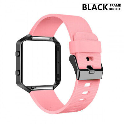 AU41.57 • Buy AIUNIT Compatible Fits Fits Fitbit Blaze Bands, Replacement Band And Frame For
