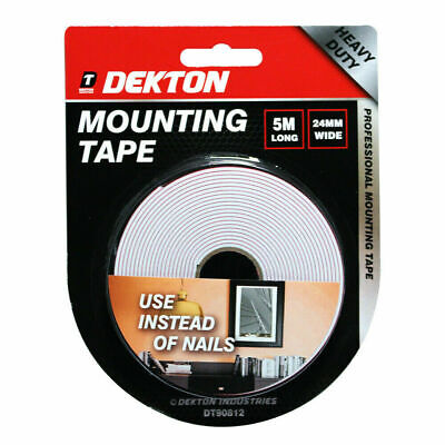 £2.89 • Buy Heavy Duty Strong Double Sided Sticky Tape Foam Adhesive Craft Padded Mounting