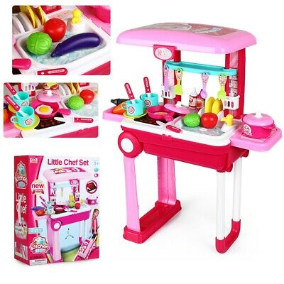 £10.59 • Buy Children Kids Electronic Kitchen Cooking Toy Portable Girls Cooker Play Set Gift