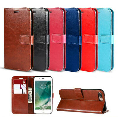 AU9.95 • Buy Case For OPPO A74 5G A54 5G Find X3 Pro Neo Magnetic Wallet Flip Leather Cover