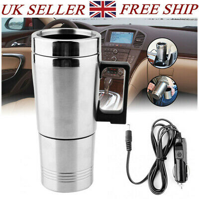 £16.55 • Buy Portable Car Electric Kettle Travel Hot Water Boiling Tea Coffee Mug For Camping