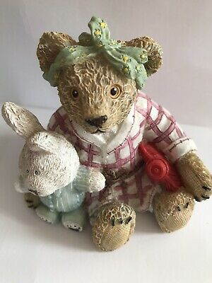£9.99 • Buy Kevin Wood Collection Teddy Bear Resin Painted Ornament