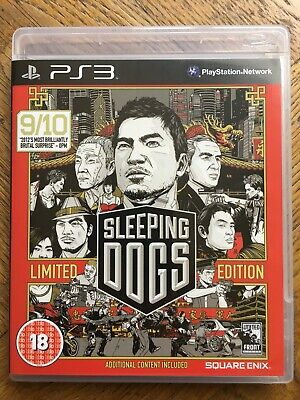 £9.99 • Buy Sleeping Dogs Limited Edition (unsealed) - PS3 UK Release New!