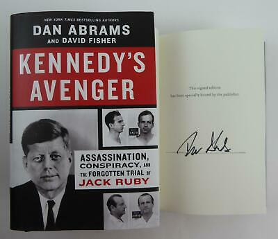 £36.30 • Buy Dan Abrams Kennedy's Avenger SIGNED Autographed HC Book 2021 W/David Fisher