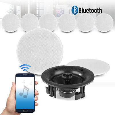 £449 • Buy 6.5  Multi Room Bluetooth Ceiling Speaker Set 4 Zone Music Home Sound System