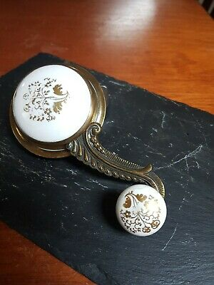 £79.99 • Buy Victorian Porcelain And Brass Servants Bell Pull