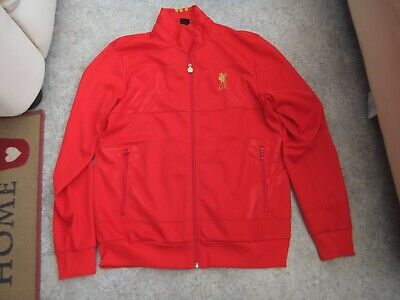£24.99 • Buy LIVERPOOL FOOTBALL CLUB RED TRACK TOP JACKET L Adidas OFFICIAL LFC MERCHANDISDE