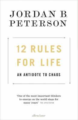 AU26.99 • Buy 12 Rules For Life: An Antidote To Chaos By Jordan B. Peterson