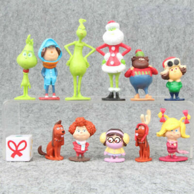 £10.26 • Buy How The Grinch Stole Christmas 12 PCS Cartoon Action Figure Kids Toy Doll Gift