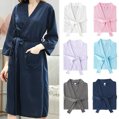 £15.78 • Buy Luxury Egyptian Cotton Bath Robe Towelling Dressing Gown Velour Terry Towel Soft