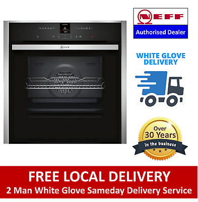 £869.99 • Buy NEFF B57CR22N0B Built In Electric Single Oven Stainless - Free Delivery
