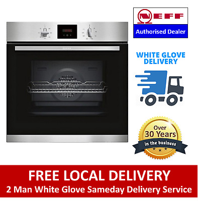 £369 • Buy NEFF B1GCC0AN0B Built In Electric Single Oven Stainless Steel - Free Delivery