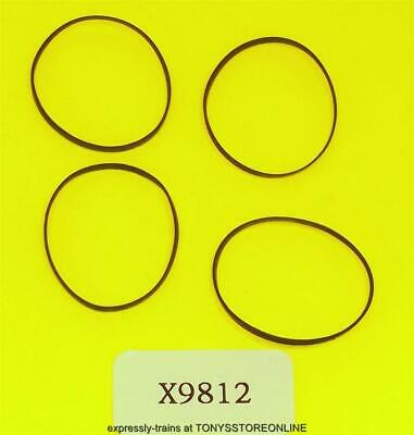 £4.25 • Buy Hornby Oo New Spares X9812 1x Pack Of 4 Traction Tyres  (26mm)