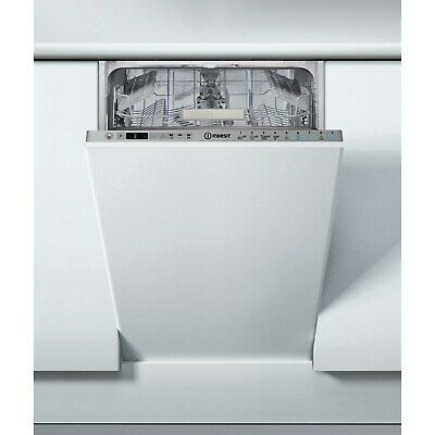 £328.97 • Buy Indesit DSIO3T224EZUKN Slimline 10 Place Fully Integrated Dishwasher With Quick