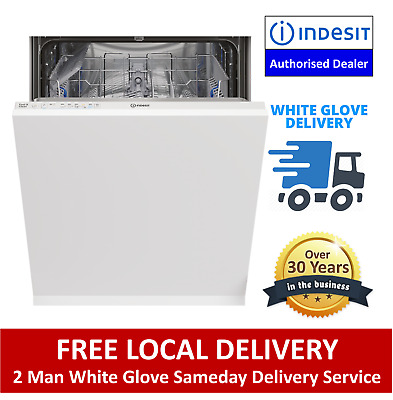 £249 • Buy Indesit DIE2B19UK Fully Integrated Dishwasher Full Size 13 Place - Free Delivery