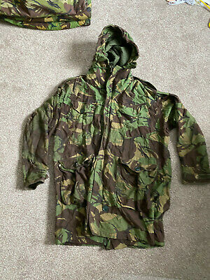 £44.99 • Buy GENUINE 70s / 80s BRITISH ARMY PARKA MAN'S COLD WEATHER DPM MINT 180 / 112
