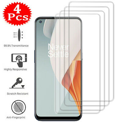 AU5.41 • Buy For OnePlus Nord 2 N10 N100 N200 6 6T 7 7T 8T 9 Tempered Glass Screen Protector