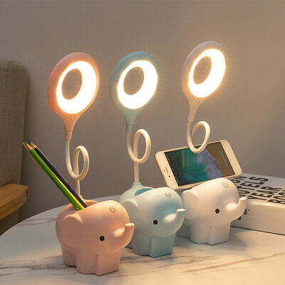 £9.53 • Buy For Children Multifunction LED Elephant Table Lamp Cartoon Cute Home Bedroom