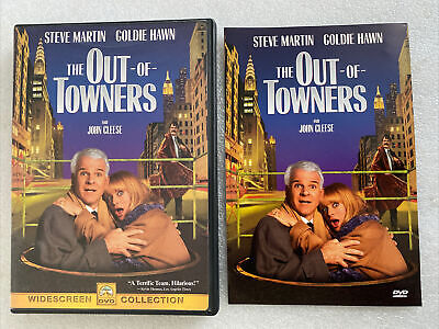 £9.95 • Buy The Out Of Townes DVD US Import, Region 1, VGC Steve Martin, Goldie Hawn,