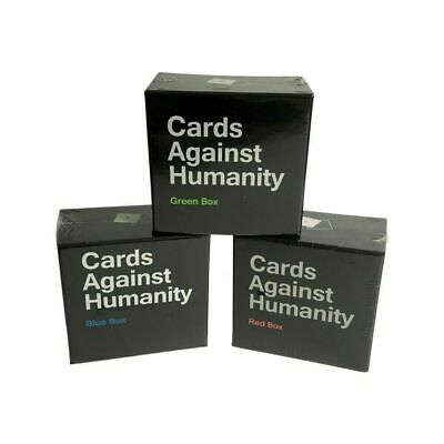 AU26.95 • Buy Cards Against Humanity Red Green Blue Box Expansion Pack Australian Local Stock