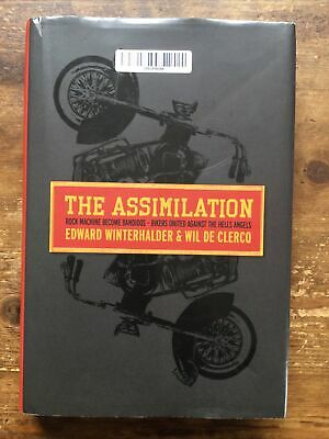 £9.95 • Buy The Assimilation Rock Machine To Bandidos Hells Angels Outlaw Bikers 1%er Book