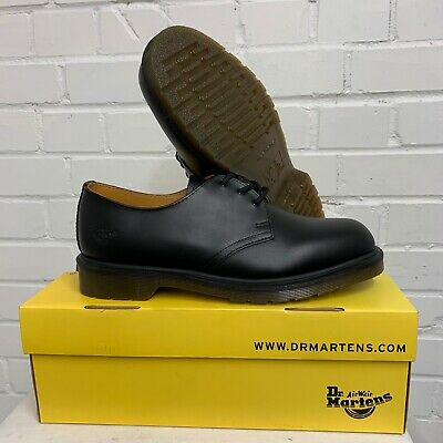 £55 • Buy DR MARTENS AIR WAIR BLACK WARD LEATHER SHOES - Size: 10.5 Uk , British Army NEW