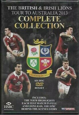 £6.99 • Buy The British & Irish Lions 2013:The Complete AUSTRALIAN Collection Lions Raw DVD
