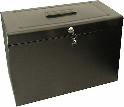 £22.90 • Buy Home Security Chest Safe Fireproof File Box Storage Office Waterproof Lockable