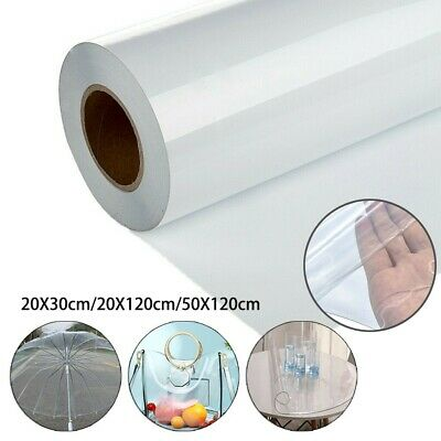 £12.23 • Buy Transparent 0.3mm Clear PVC Flexible Plastic Sheeting Protective Screen Windows.