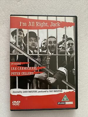 £3.48 • Buy I'm All Right Jack, DVD  Peter Sellers Ian Carmichael Terry Thomas, Free Post